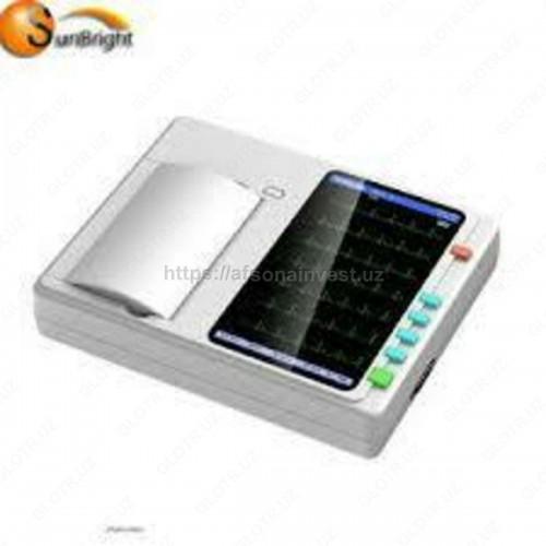 Электрокардиограф 6 канальный сенсорный экран ECG-RB600